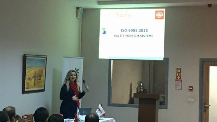 YALÇIN ELEKTRİK'TE ISO 9001:2015 EĞİTİMİ