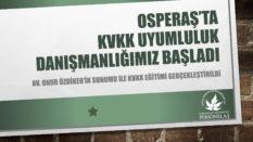 OSMANGAZİ BELEDİYESİ PERSONEL A.Ş. KVKK ÇALIŞMALARIMIZ